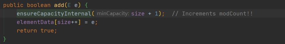 arraylist-add方法